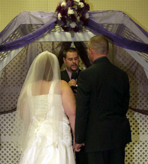 non-denominational wedding officiant